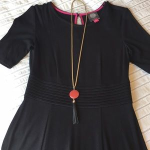 Vince Camuto Black Dress NWT